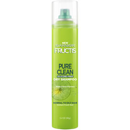 Garnier Fructis Pure Clean Silicone Free Dry Shampoo - Normal to Oily - 96g