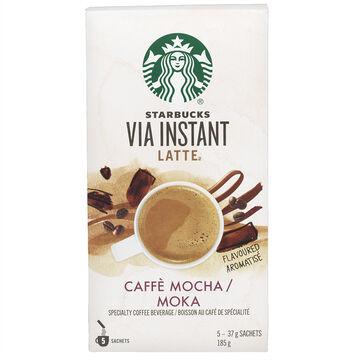 Starbucks Via Mocha Latte - 5's