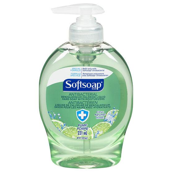 Softsoap Antibacterial Liquid Hand Soap - Citrus - 225ml