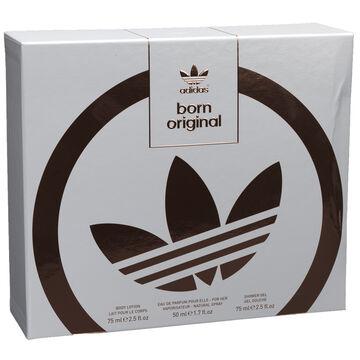 Adidas Born Original For Her Fragrance Set - 3 piece