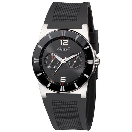 Kenneth Cole Dress Sport Watch - Black - 10008220