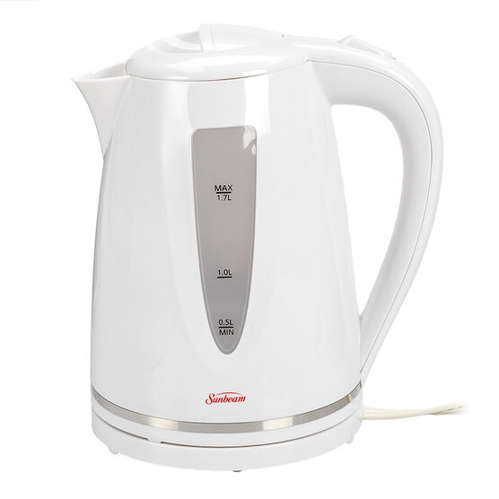 Sunbeam Cordless Kettle 1.7L - White - BVSBKT1703W-033