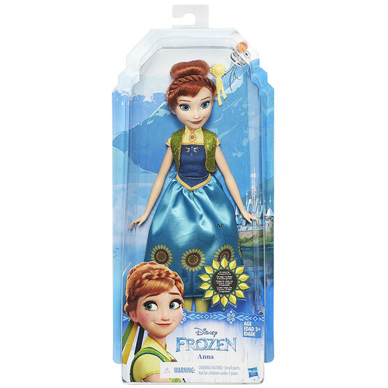 Frozen Fashion Doll - Anna - Assorted