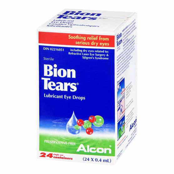 Alcon Bion Tears - 24's