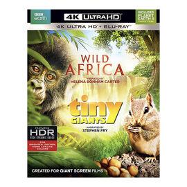 Wild Africa / Tiny Giants - 4K UHD Blu-ray