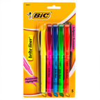 Bic Brite Liner Highlighters - 5's