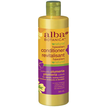 Alba Botanica Natural Hawaiian Conditioner - Colouriffic Plumeria - 355ml