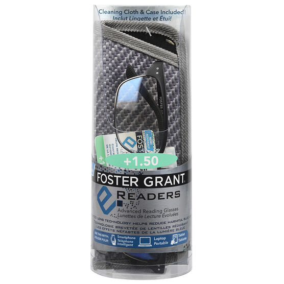 Foster Grant e.Readers Wally Reading Glasses - 1.50