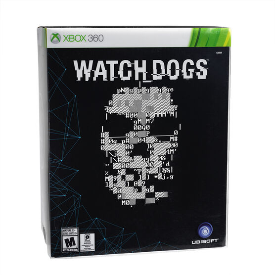 Xbox 360 Watch Dogs Limited Edition