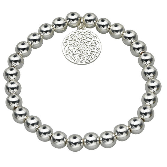 Haskell Silver Charm Bracelet