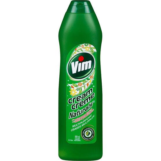 Vim Naturals Cream - 500ml