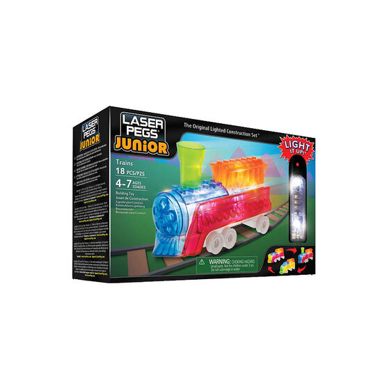 Laser Pegs Juniors 3-in-4 - Trains
