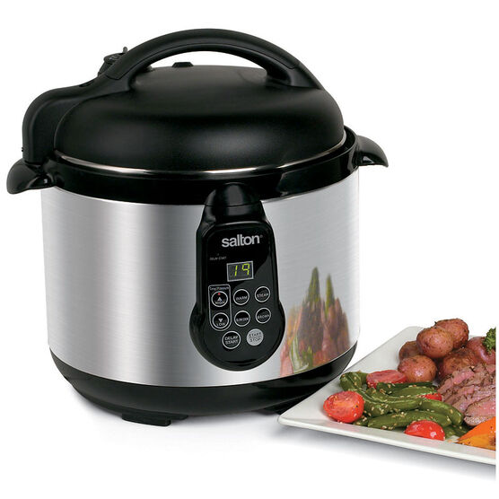 Salton Electric Pressure Cooker - 5L - PC1048