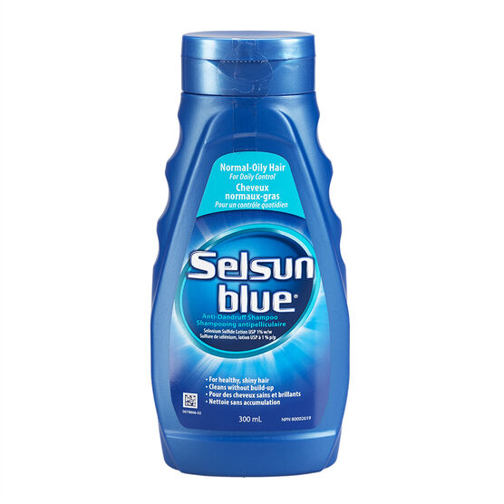 Selsun Blue Anti-Dandruff Shampoo for Normal-Oily Hair - 300ml