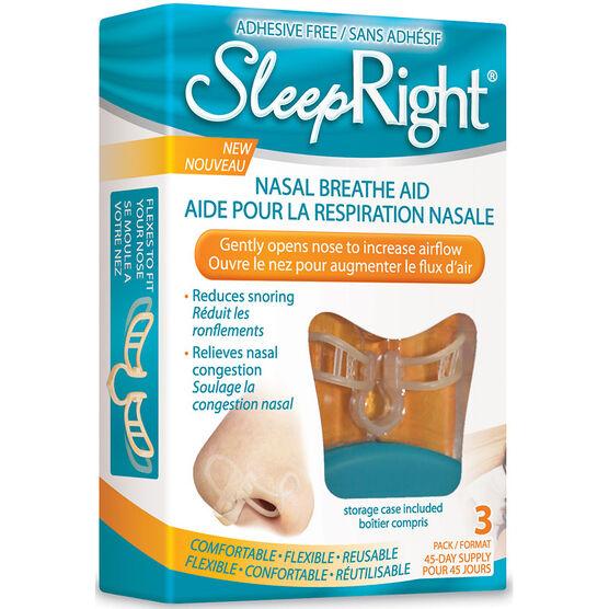 SleepRight Nasal Breathe Aid - 1's