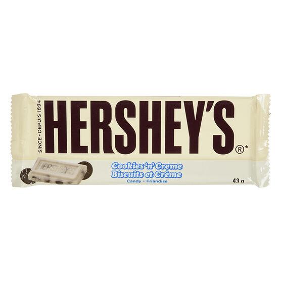 Hershey's Cookies 'n' Cream Bar - 43g