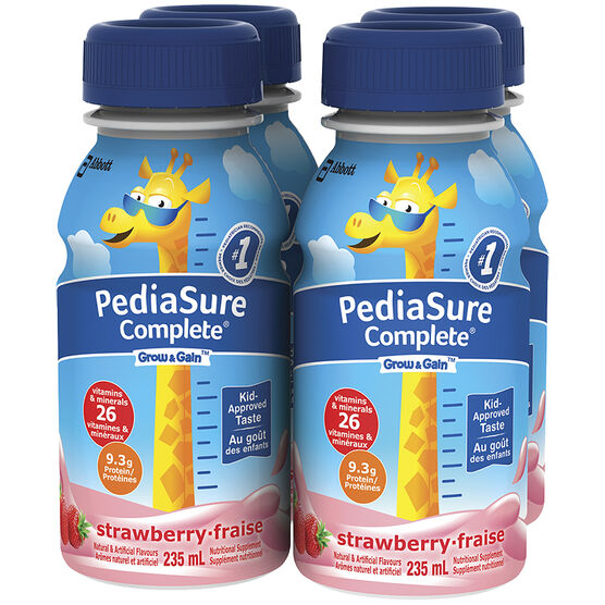 PediaSure Complete - Strawberry - 4 x 235ml