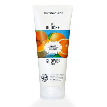 Fruit & Passion Shower Gel - Orange Cantaloupe - 200ml