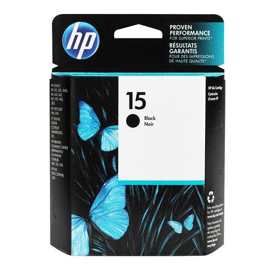HP 15 810C/812C Print Cartridge - Black - C6615DC