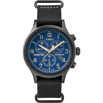 Timex Expedition Scout Chronograph - Blue - TW4B04200ZA