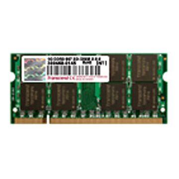 Transcend 1G DDR2-PC667 SO-DIMM 1Rx8 - JM667QSU-1G