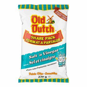 Old Dutch Potato Chips - Salt 'N Vinegar - 270g