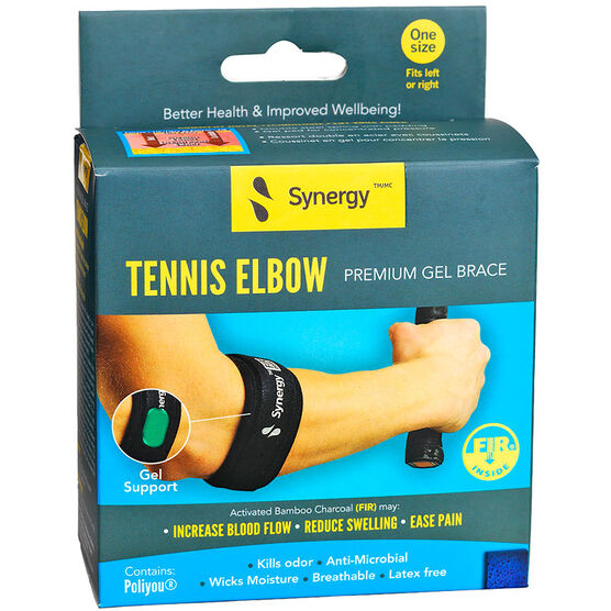 Synergy Tennis Elbow Premium Gel Brace - One Size