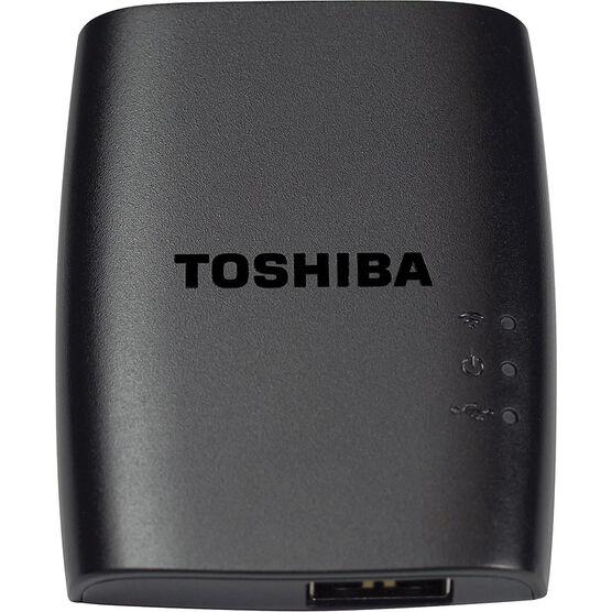Toshiba Canvio Wireless Adapter - Black - HDWW100XKW