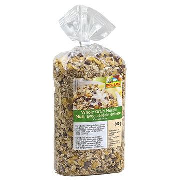 Musli-Land - Whole Grain Muesli Cereal - 500g