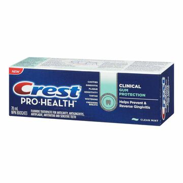 Crest Pro-Health Clinical Gum Protection Toothpaste - Clean Mint - 78ml