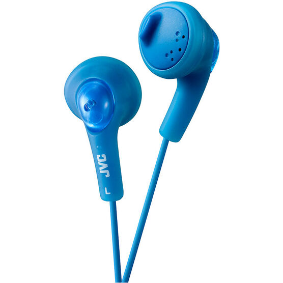 JVC Gumy Earbud Headphones - Blue - HAF160A