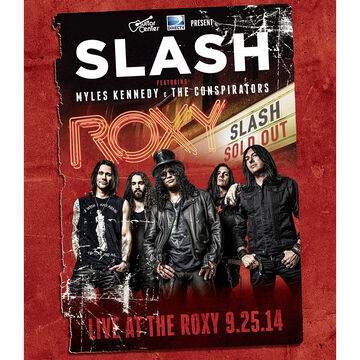 Slash: Live at the Roxy - DVD