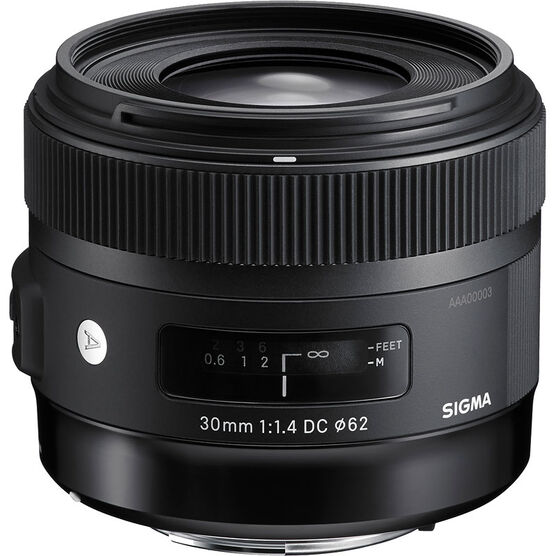 Sigma Art 30mm F1.4 DC HSM Lens for Canon - A30DCHC
