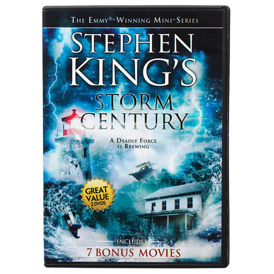 Storm of the Century + 7 Bonus Films - DVD