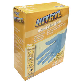 Ansell Disposable Nitryl Gloves - 50's