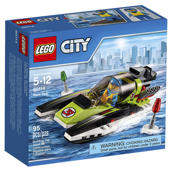 Lego City - Race Boat