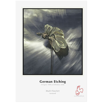 Hahnemuhle German Etching 310gsm- 8.5 x 11inch - 25 sheets