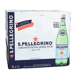San Pellegrino Water Case - 12x1L