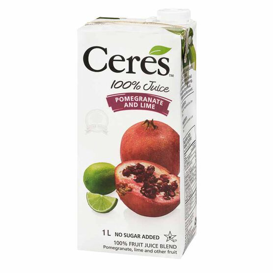 Ceres Fruit Juice - Pomegranate & Lime - 1L