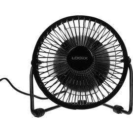 Logiix Retro Air USB Fan - Small - Black - LGX-10672