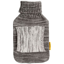 Star&Rose Hot Water Bottle Cover - Grey