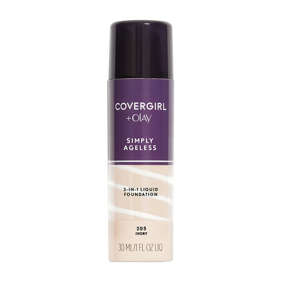 CoverGirl & Olay Simply Ageless 3-in-1 Liquid Foundation - Ivory