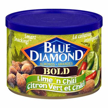 Blue Diamond Almonds - Bold Lime 'n Chili - 170g