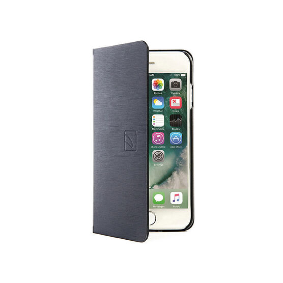 Tucano Filo Folio for iPhone 7 - Black - IPH74FIBK