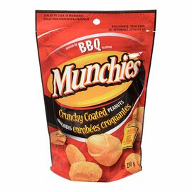 Munchies Crunchy Coated Peanuts - BBQ - 210g