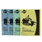 Hilroy Canada Exercise Books - Ruled - 32 pages - 4 pack
