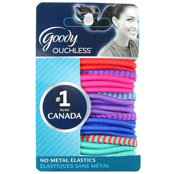 Goody Ouchless Elastics - Rio Jewel - 24's