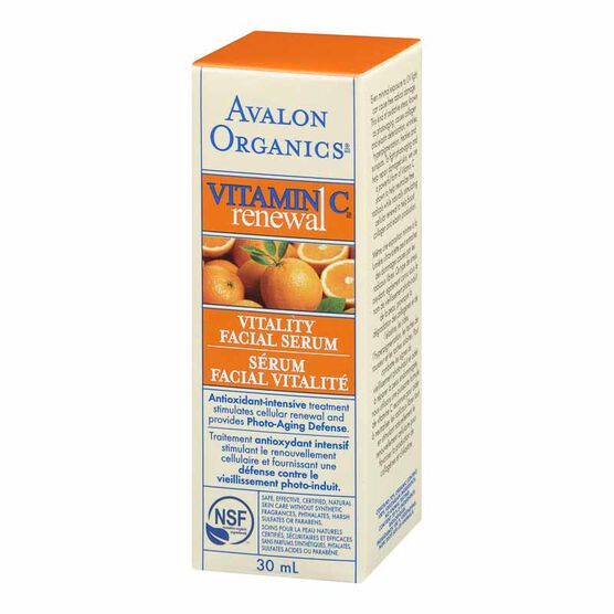Avalon Organics Vitamin C Renewal Vitality Facial Serum - 30ml