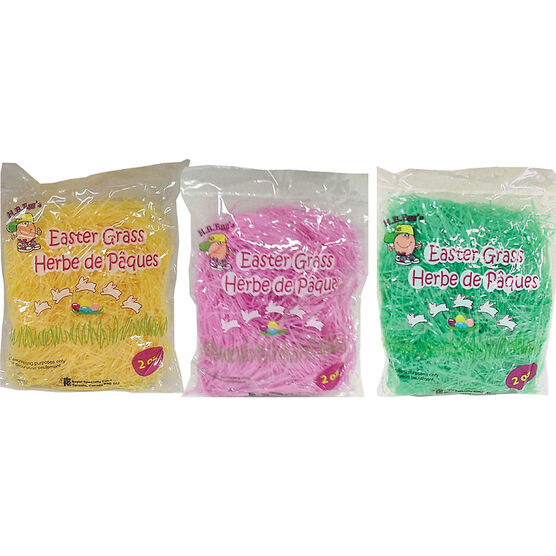 Easter Poly Grass - 2oz - Assorted
