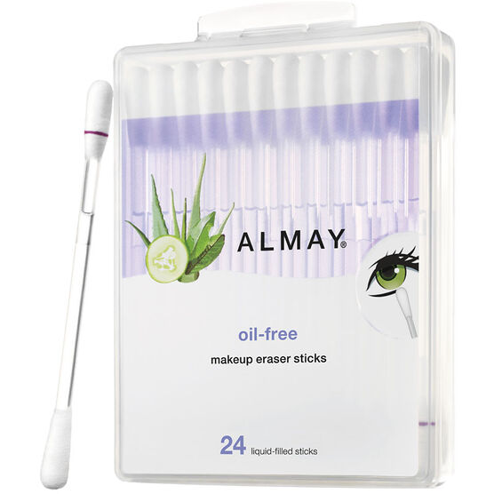 Almay Oil-Free Eye Make-Up Remover Sticks - 24's